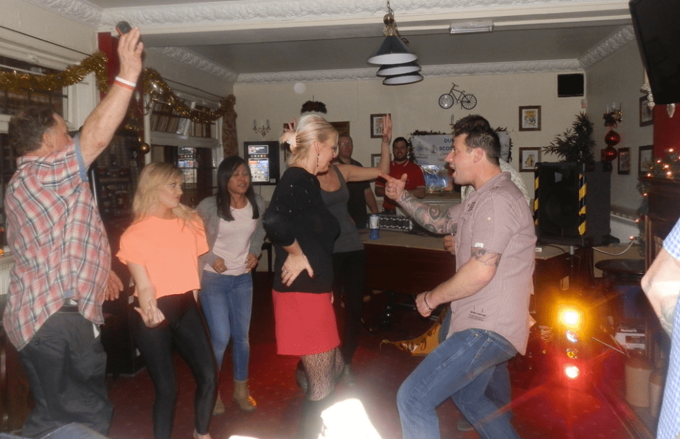 The Locals Throwing Some Shapes