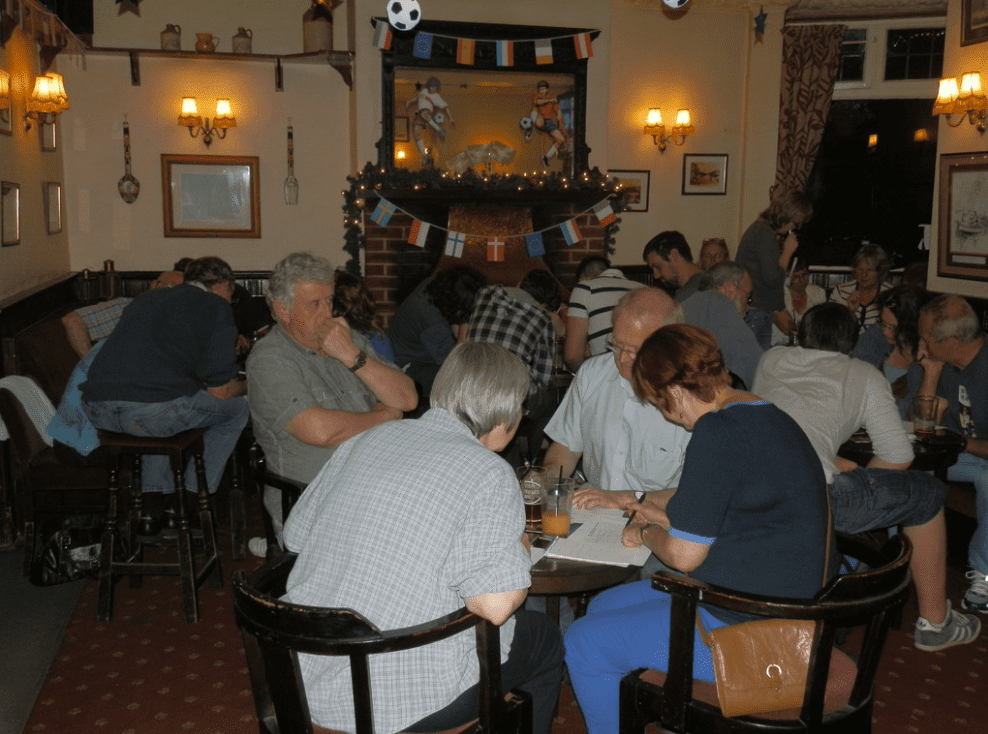 Brains Engaged for the BIG quiz