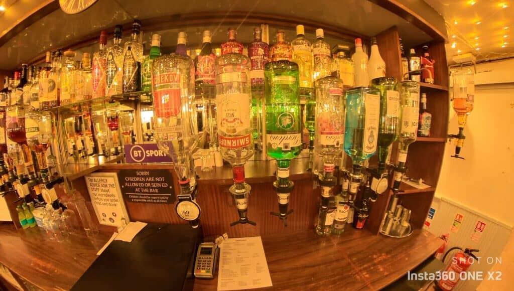 The Anglers Inn Bar, Eastleigh